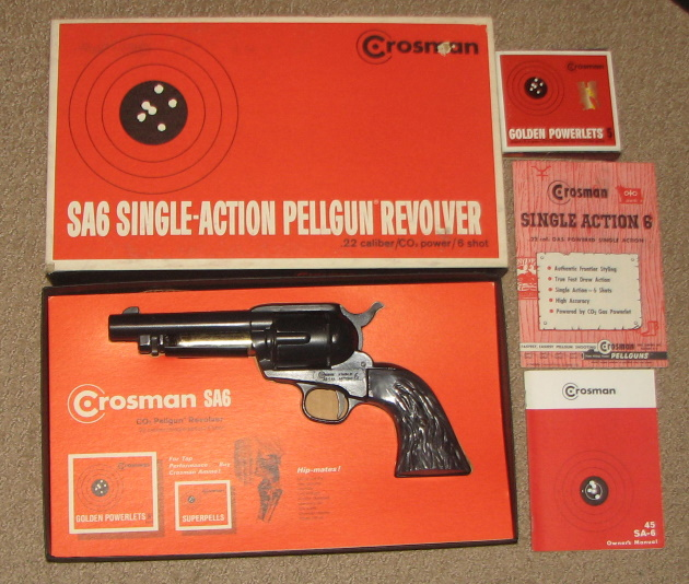 Crosman model SA6 pellet reolver