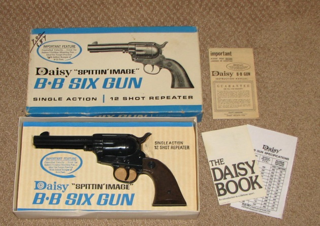 Daisy model 179 western pistol in box for
