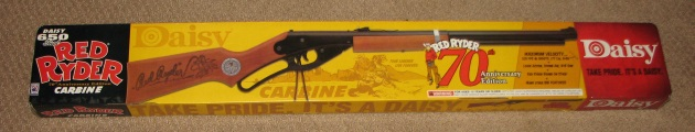 Daisy model 1938B Red Ryder 70th anniv.