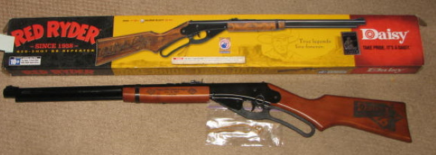 Daisy comes home to Rogers bb gun for sale
