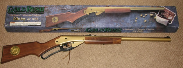 Daisy model 95 Gold Rush bb gun in box for