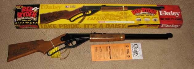 Daisy 75th anniv Red Ryder bb