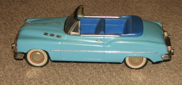 Dixi Diner blue car for