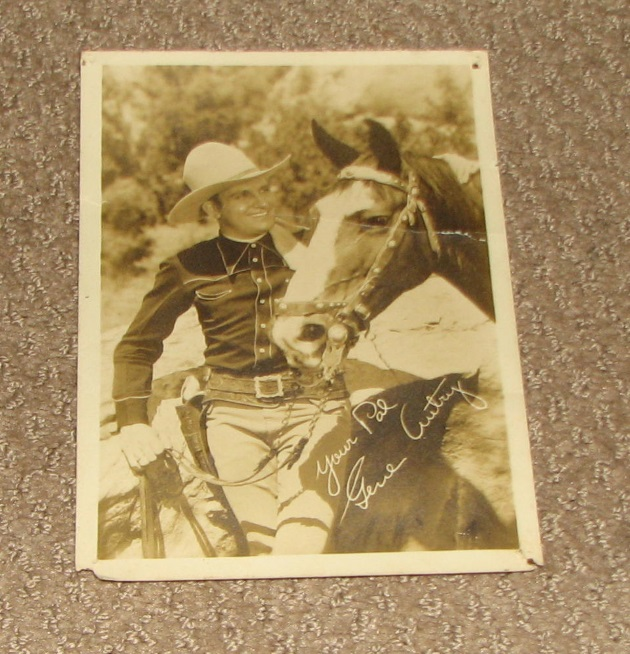 Gene Autry photo for sale