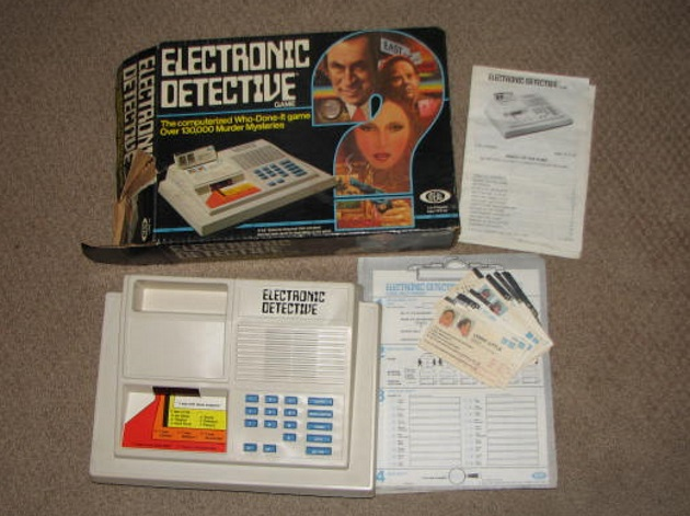 Don Adams electronic dective game