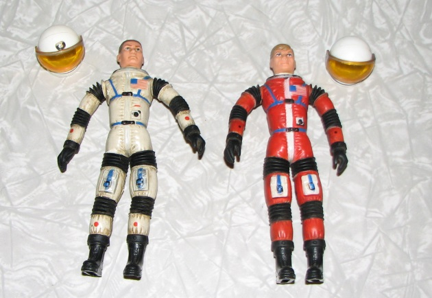 Major Matt Mason figure and Sargen tFigure plus