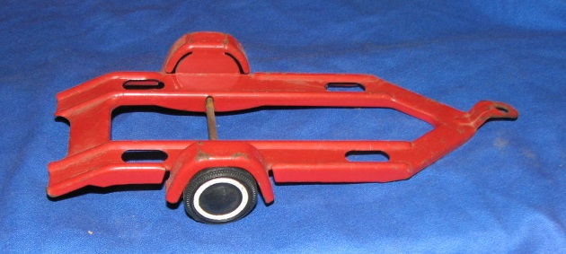 Tonka toy red car trailer for sale