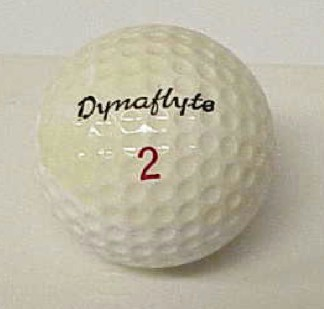 VINTAGE DYNAFLYTE GOLFBALL
