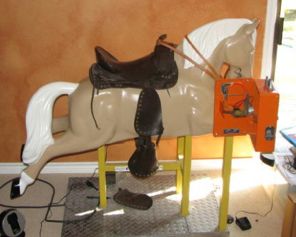 coin operated horse
