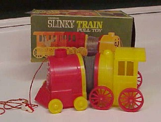 Christmas Tree Toy Train