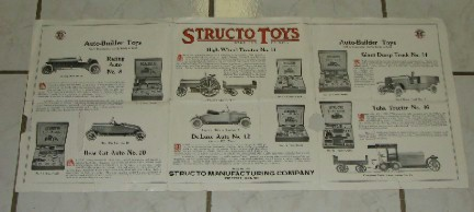 structo original toy ad