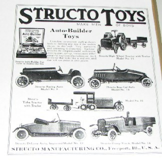 STRUCTO AUTO BUILDERS AD 1920