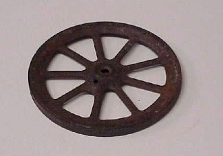 TOY TRACTOR WHEEL FOR SALE.