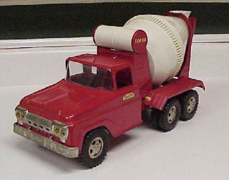Tonka 1958 cement truck for